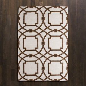 Arabesque Rug-Mocha